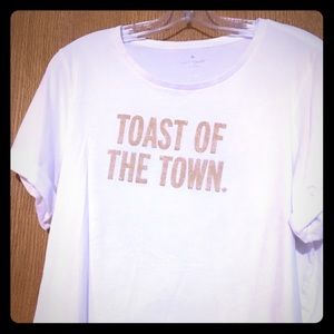 Toast the town T-shirt